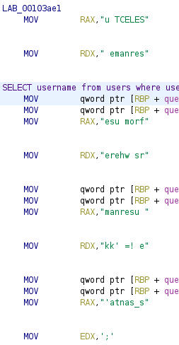 query_reconstruction